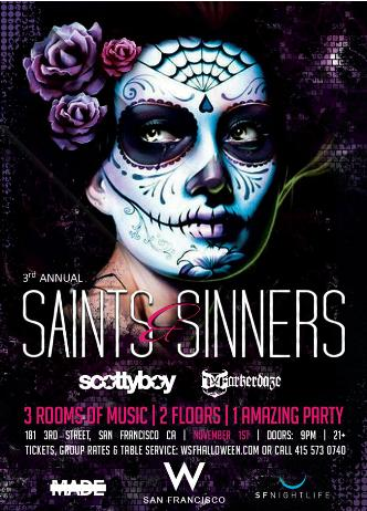 Saints & Sinners Ball at W SF