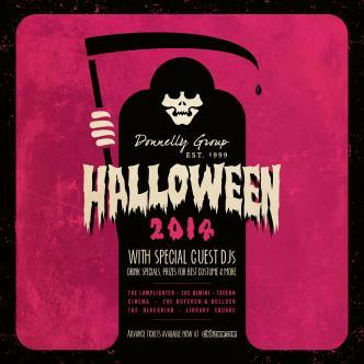 Halloween 2014 at Bimini Pub
