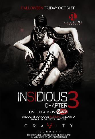 INSIDIOUS 3 @ GRAVITY SOUNDBAR