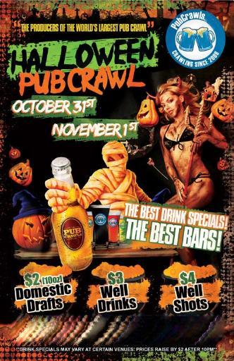 SF Halloween Pub Crawl