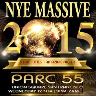 NYE Massive 2015 - Parc 55