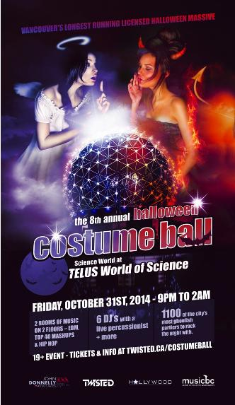 HALLOWEEN COSTUME BALL