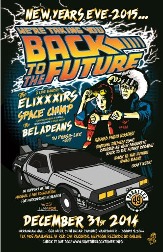 BACK TO THE FUTURE NYE 2015