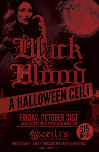 Black & Blood Halloween (Rich)