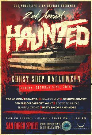 Haunted Ghost Ship Halloween