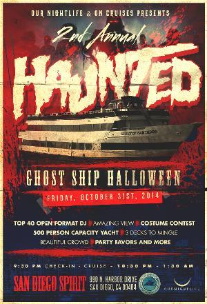 Haunted Ghost Ship Halloween
