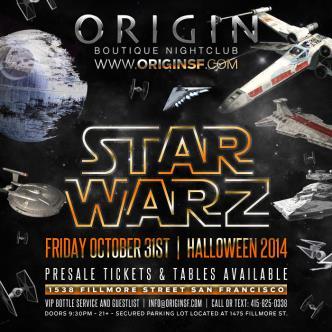 STAR WARZ Halloween 2014