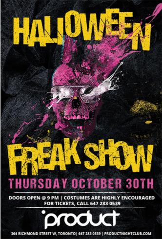 FREAKSHOW @ PRODUCT NIGHTCLUB