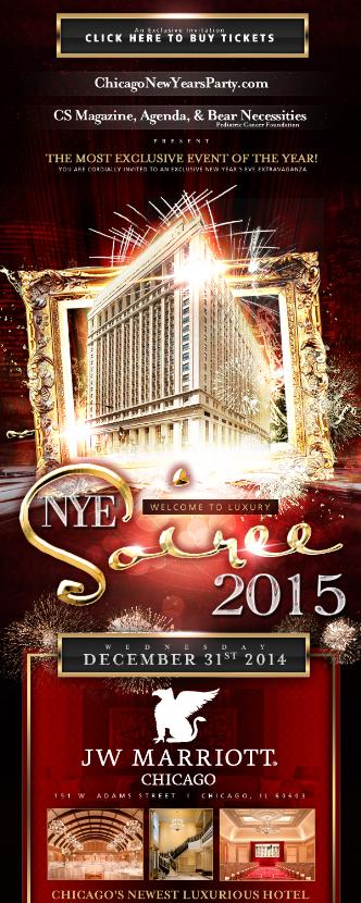 NYE 2015 – JW Marriott Chicago