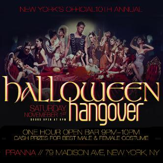 10th Annual Halloween Hangover
