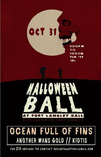 Halloween Ball at Fort langley