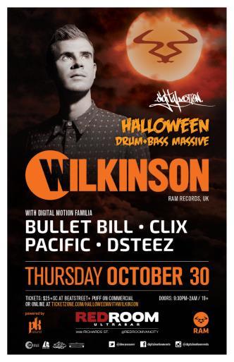 Halloween DnB Feat Wilkinson