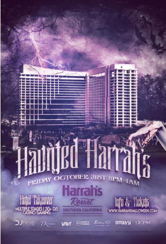 HAUNTED Harrahs