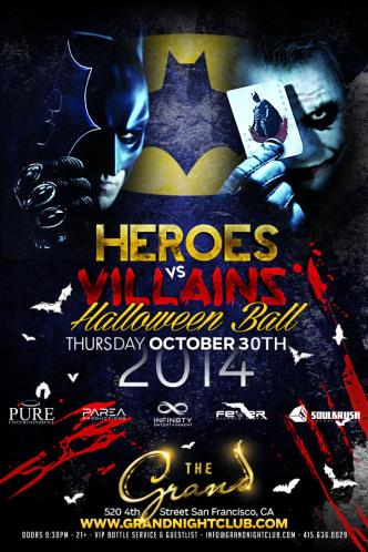 Heroes vs. Villain