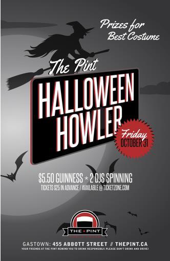 The Pint Halloween Howler