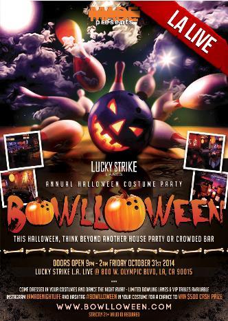 Bowlloween LA Live 2014