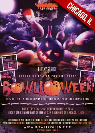 Bowlloween Chicago 2014