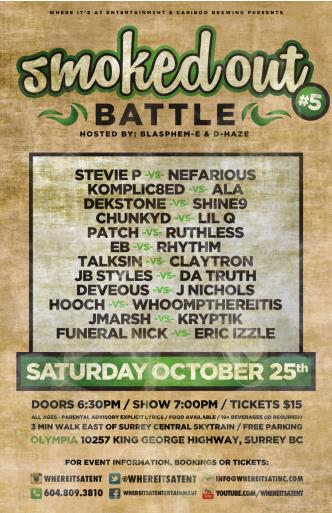 SMOKED OUT BATTLE Vol #5