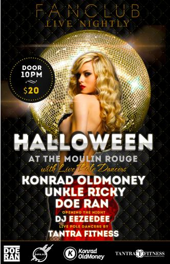HALLOWEEN AT THE MOULIN ROUGE