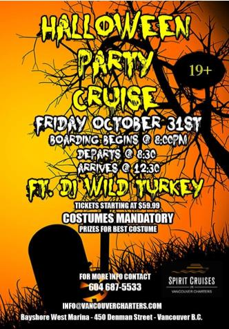 Halloween Party Cruise