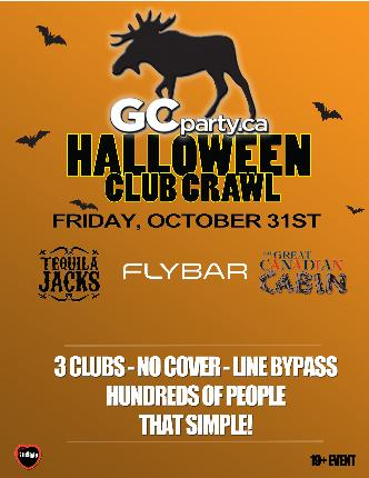 Halloween Crawl Ottawa - Fri