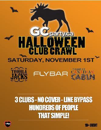 Halloween Crawl Ottawa - Sat