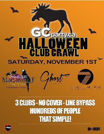 Halloween Crawl Niagara - Sat