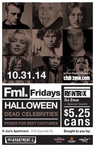Joe's FML Halloween