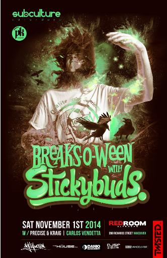 BREAKS-O-WEEN ft. STICKYBUDS