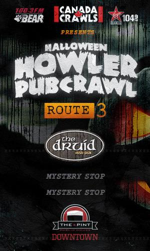 Route 3: Halloween Howler