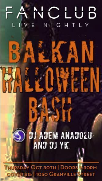 Balkan Halloween Bash