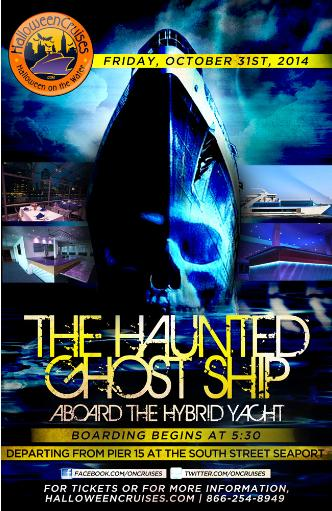 Haunted Ghost Ship - Hybrid