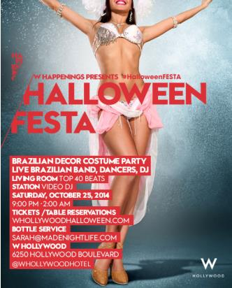 Halloween Festa @ W Hollywood