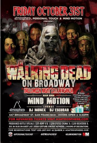 The Walking Dead On Broadway