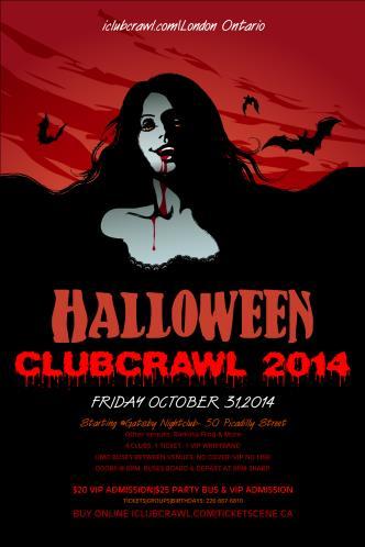 Halloween Pub Crawl London ON