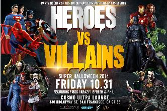 HEROES & VILLAINS HALLOWEEN