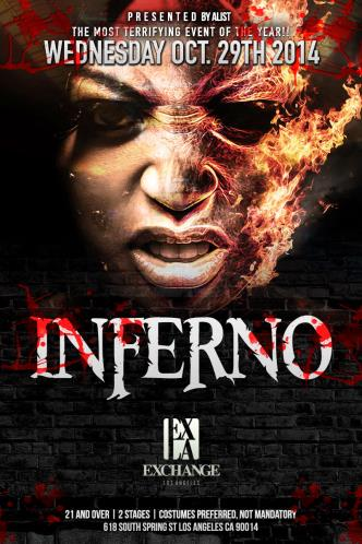 Inferno at Exchange LA