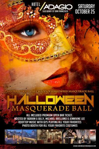 Hotel Adagio Masquerade Ball