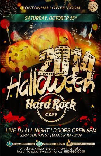 Hard Rock Cafe Boston Oct 25