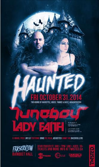 HAUNTED [TUNEBOY + LADY FAITH]