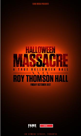 Halloween Massacre at Roy Thom
