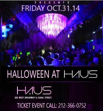 Haus NYC Halloween Bash