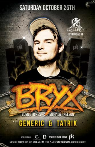 BRYX @ Gallery Nightclub