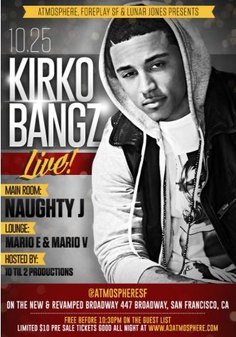 Kirko Bangz Live!