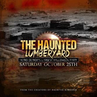 THE HAUNTED LUMBERYARD PARTY