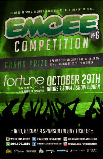EMCEE COMPETITION #6