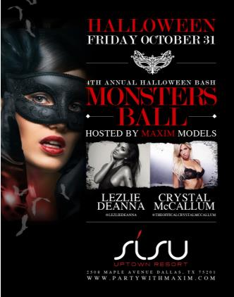 4th Annual Monsters Ball