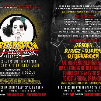 Freakshow Fridays | Oct 24th-img