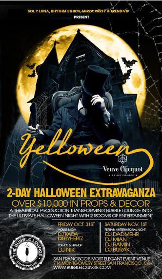 Veuve Clicquot YELLOWEEN Party