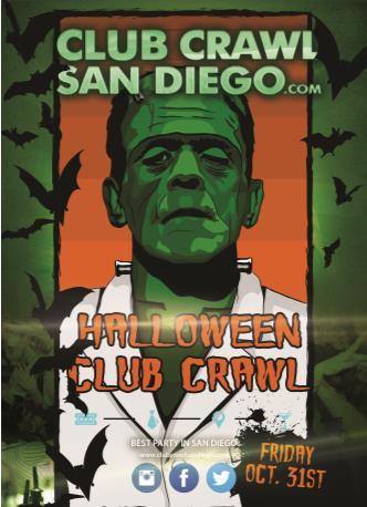 HALLOWEEN CLUB CRAWL